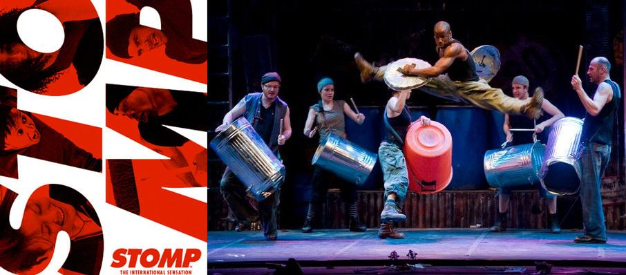 Stomp at Providence Performing Arts Center