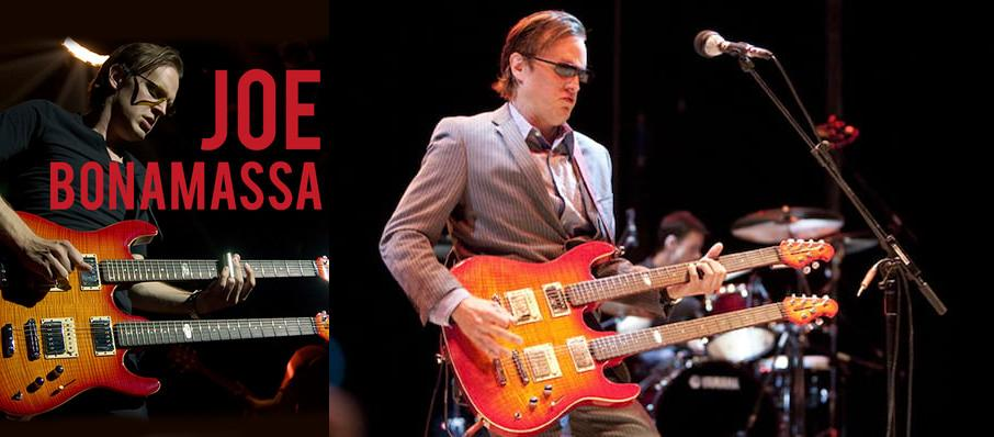 Joe Bonamassa at Providence Performing Arts Center