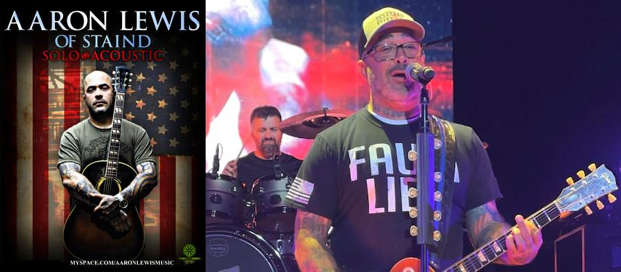 Aaron Lewis at MGM Grand Theater