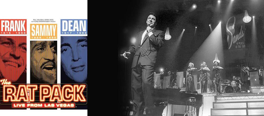 The Rat Pack at Twin River Events Center
