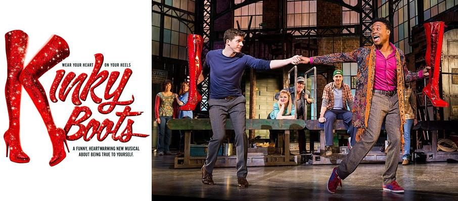 Kinky Boots at Providence Performing Arts Center