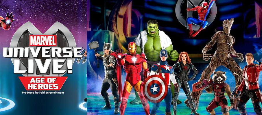 Marvel Universe Live! at Dunkin Donuts Center