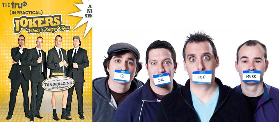 Cast Of Impractical Jokers & The Tenderloins at MGM Grand Theater