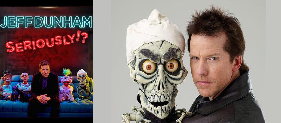 Jeff Dunham at Dunkin Donuts Center