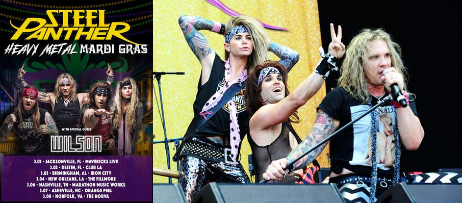 Steel Panther at Lupos Heart Break Hotel