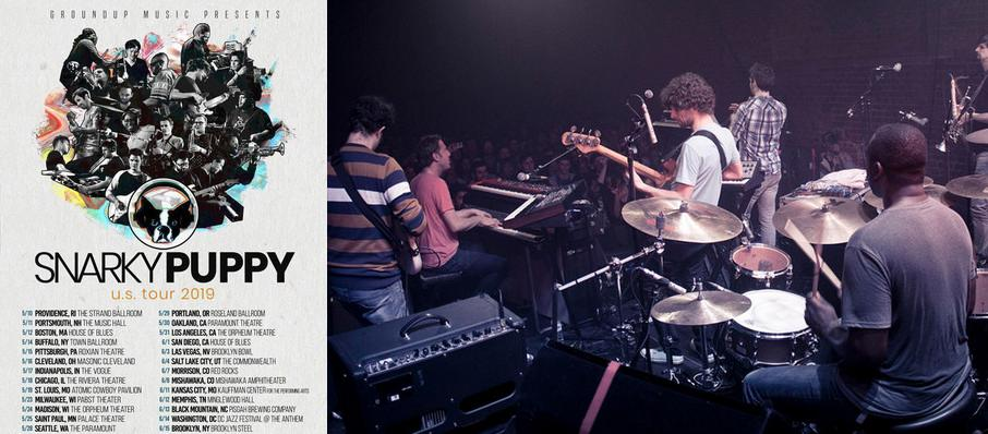 Snarky Puppy at Lupos Heart Break Hotel