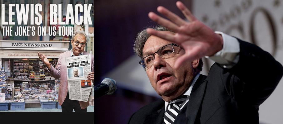 Lewis Black at Providence Performing Arts Center