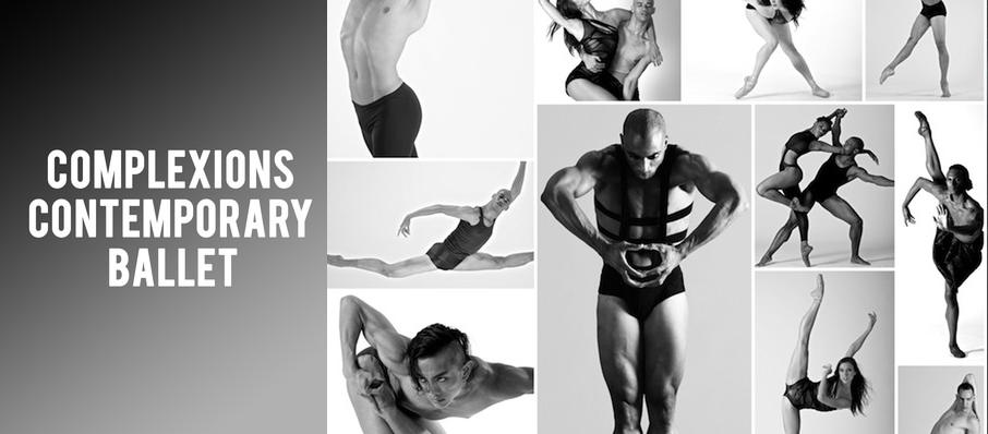 Complexions Contemporary Ballet at Providence Performing Arts Center