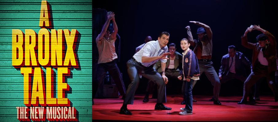 A Bronx Tale at Providence Performing Arts Center