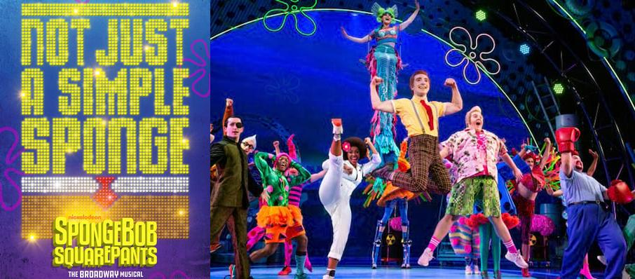 Spongebob Squarepants at Providence Performing Arts Center