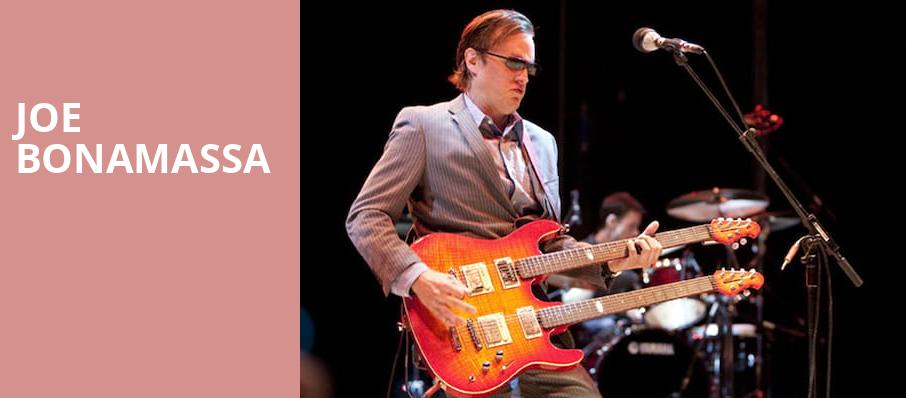 Joe Bonamassa, Providence Performing Arts Center, Providence