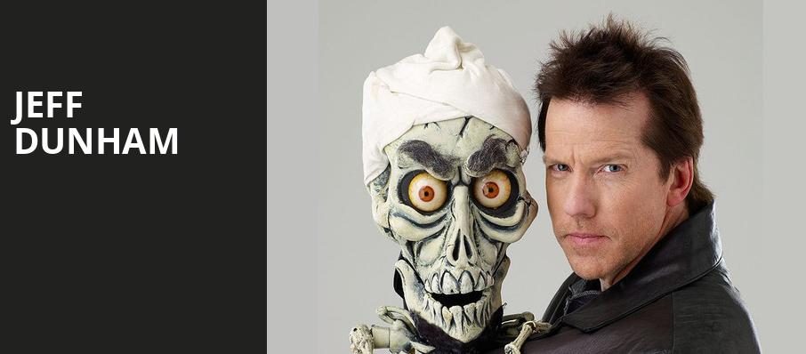 Jeff Dunham, Dunkin Donuts Center, Providence
