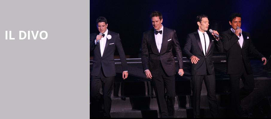 Il Divo, Providence Performing Arts Center, Providence