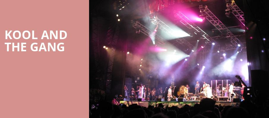 Kool and The Gang, Twin River Events Center, Providence