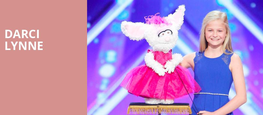 Darci Lynne, MGM Grand Theater, Providence