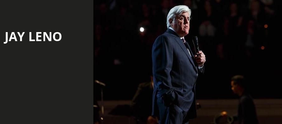 Jay Leno, MGM Grand Theater, Providence