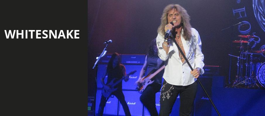 Whitesnake, Twin River Events Center, Providence