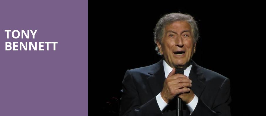 Tony Bennett, Providence Performing Arts Center, Providence