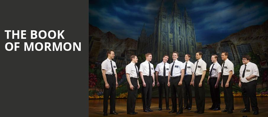 The Book of Mormon, Providence Performing Arts Center, Providence