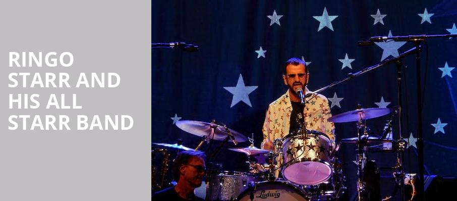 Ringo Starr And His All Starr Band, Providence Performing Arts Center, Providence