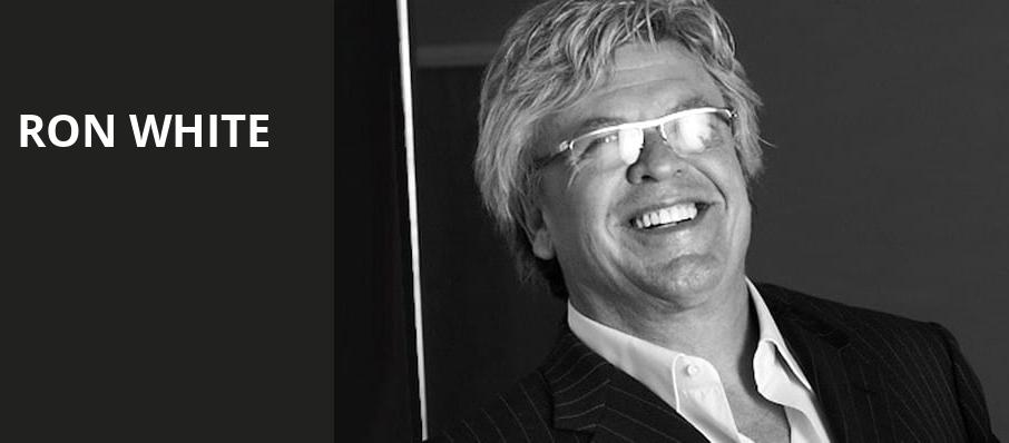 Ron White, MGM Grand Theater, Providence
