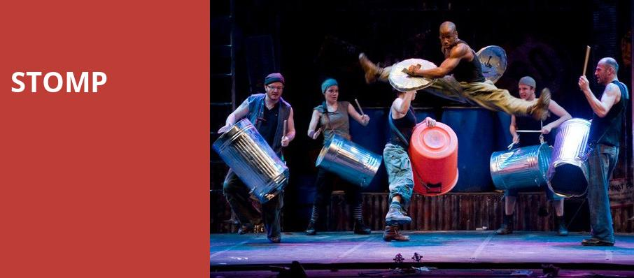 Stomp, Providence Performing Arts Center, Providence