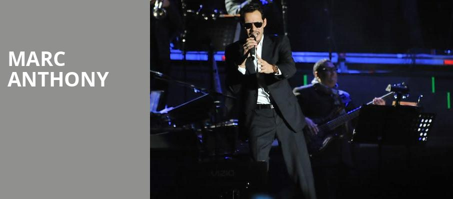 Marc Anthony, MGM Grand Theater, Providence