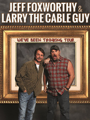 Jeff Foxworthy & Larry The Cable Guy Poster